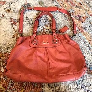 Gorgeous Salmon Pink Large Coach Bag